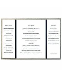 Porta Menú A4 Goya Collection 230X320Mm - Lacor 28161