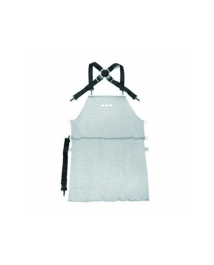 Delantal Malla Metalica Acero Inox 80X55 - Lacor 39165