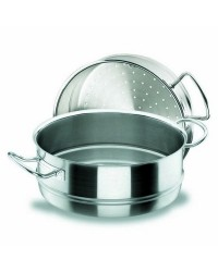 Cacerola Vapor 28 Cm. Chef-Inox - Lacor 50428