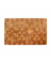 Tabla Corte Rubber Wood 530X325X40 Cm - Lacor 60485