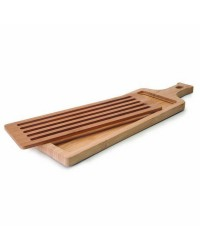Tabla Corte Pan Bambu 50X15X2 Cm  - Lacor 60495