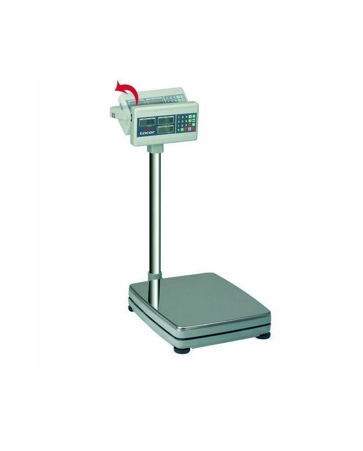 Bascula Elect. Con Base Cuadrada 150 Kg  - Lacor 61700