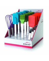 Caja Display 20 Pcs Reposteria Silicona  - Lacor 64424