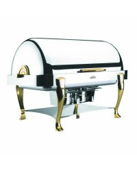 Chafing Dish Roll Top Patas Laton 1/1 - Lacor 69015