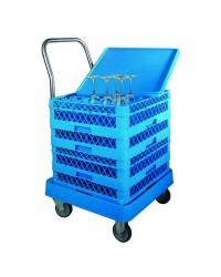 Carro Porta-Cestas Con Asa  - Lacor 69211