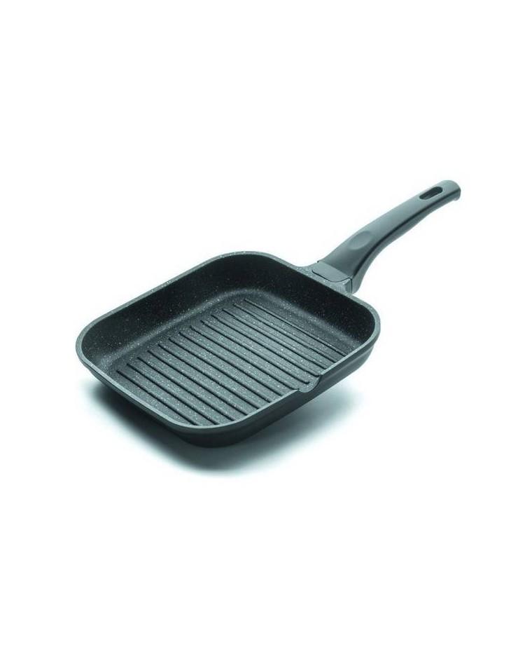 Asador-Grill Eco-Piedra 28X28 Cms - Lacor 24129