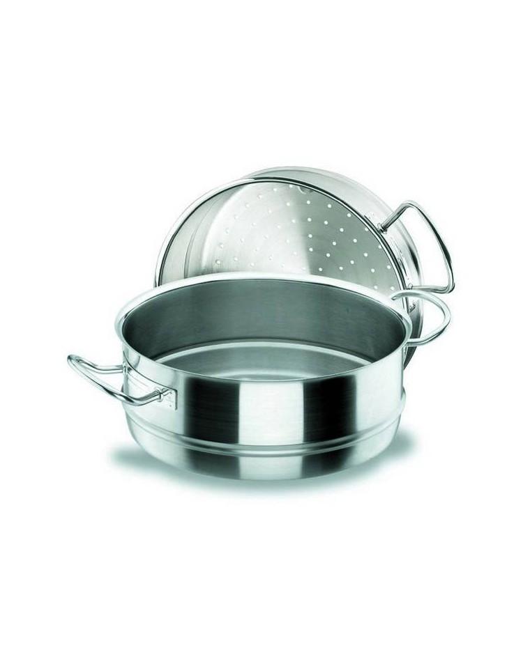 Cacerola Vapor 32 Cm. Chef-Inox  - Lacor 50432