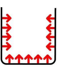 Cacerola Trimetal 24 Cm - Lacor 53024