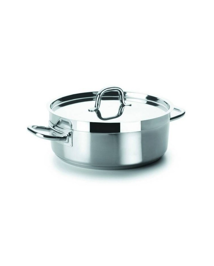 Cacerola Con Tapa D.24 Cm Chef-Luxe  - Lacor 54024