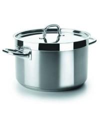 Cacerola Alta Con Tapa D.24 Cm Chef-Luxe - Lacor 54025
