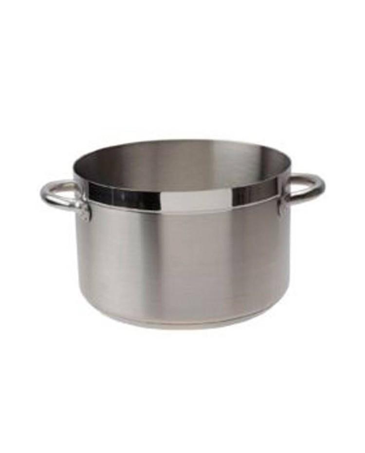 Cacerola Alta Sin Tapa D.24 Cm Chef-Luxe - Lacor 54025S