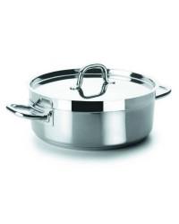 Cacerola Con Tapa D.28 Cm Chef-Luxe  - Lacor 54028