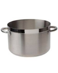 Cacerola Alta Sin Tapa D.28 Cm Chef-Luxe - Lacor 54029S