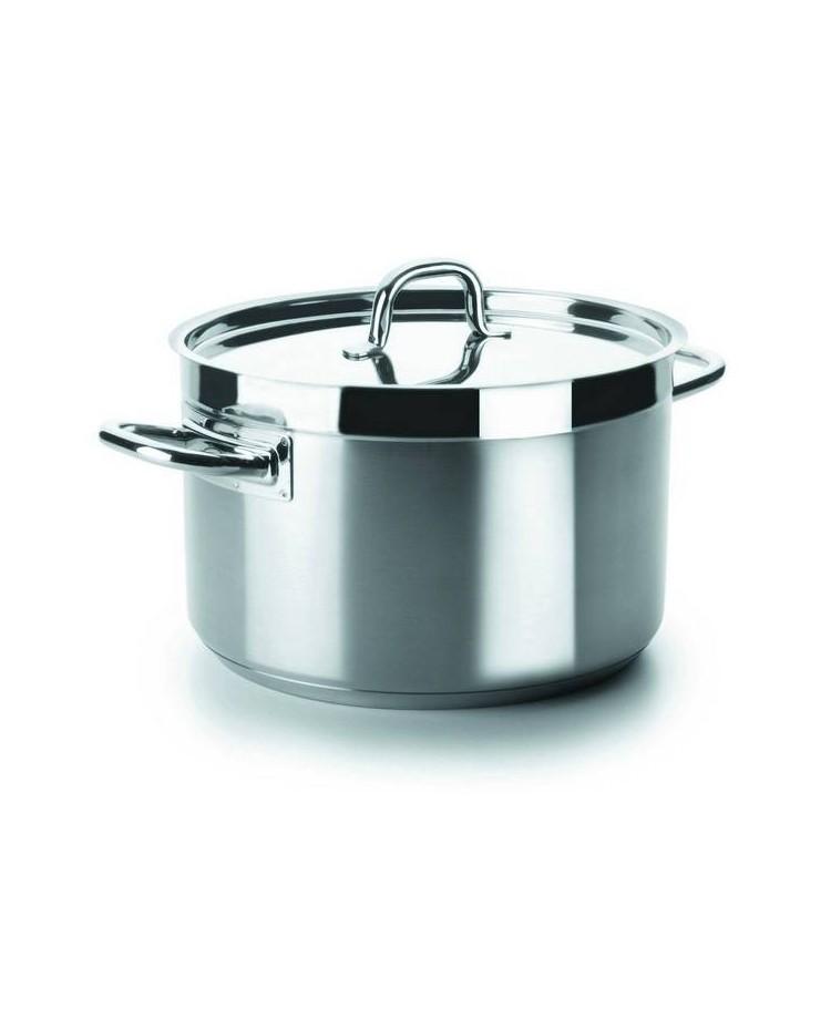 Cacerola Alta Con Tapa D.45 Cm Chef-Luxe - Lacor 54046