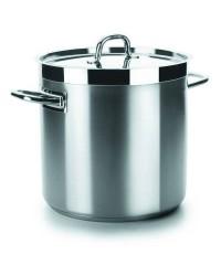 Olla Recta Con Tapa D.28 Cm Chef-Luxe - Lacor 54128