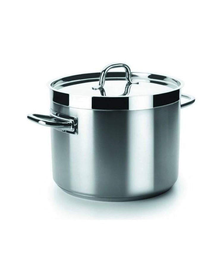 Olla Baja Con Tapa D.32 Cm Chef-Luxe  - Lacor 54131