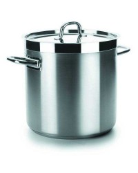 Olla Recta Con Tapa D.32 Cm Chef-Luxe - Lacor 54132
