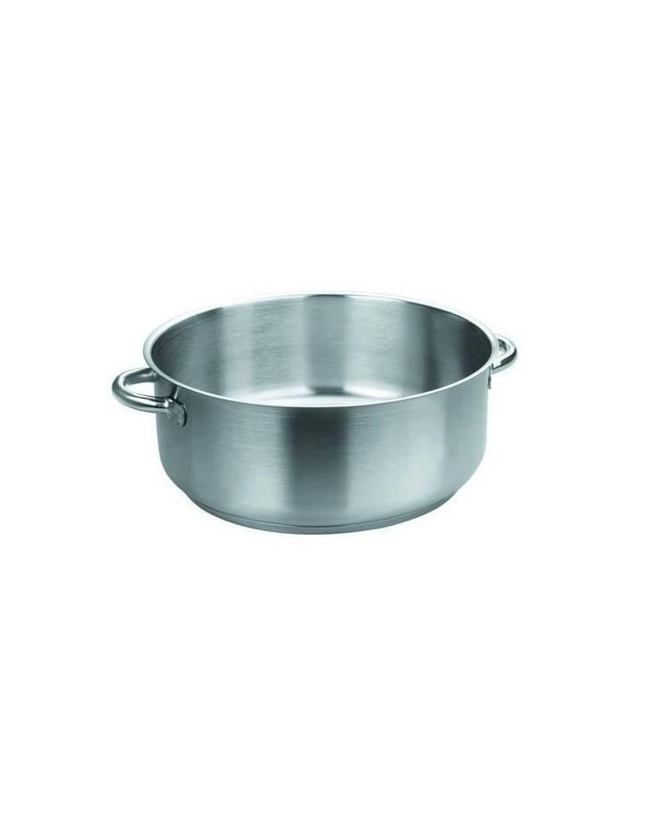 Cacerola Eco-Chef D.20X9 Cms. S/Tapa  - Lacor 57020