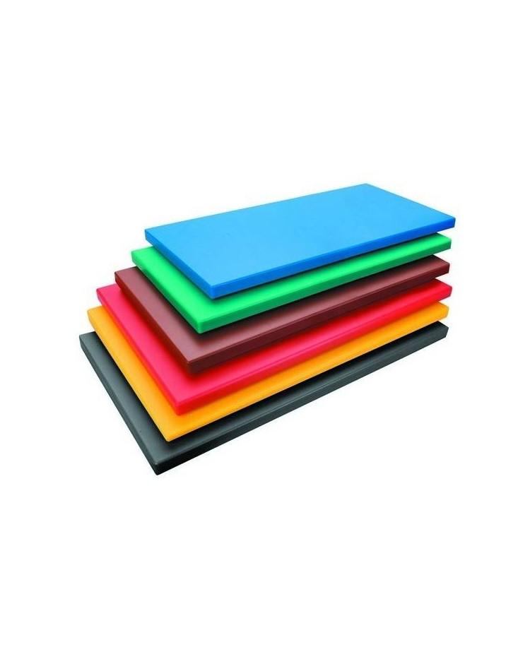 Tabla Corte Polietileno Hd Gn 1/2X2 Rojo - Lacor 60473