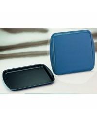 Caja de 6 uds de Bandeja Horno Blu 40X33 Cms, Aluminio Ibili 331440