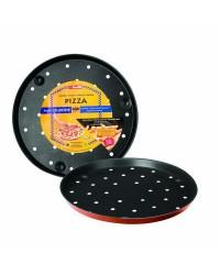 Caja de 6 uds de Molde Pizza Crispy Cupra 28 Cms. Aluminio Ibili 371128
