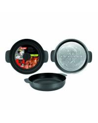 Caja de 6 uds de Tartera Aluminio Indubasic 18 Cms, Valida Para Todas Las Cocinas Ibili 405318