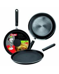 Caja de 6 uds de Sarten De Crepes Aluminio Indubasic 20 Cm, Valida Para Todas Las Cocinas Ibili 405820
