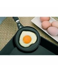 Caja de 6 uds de Sarten Mini Corazon Moka, Valido Para Todas Las Cocinas Ibili 450400