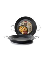 Caja de 4 uds de Paellera Chapa De Acero Gandia 46 Cm, Valida Para Todas Las Cocinas Ibili 501046