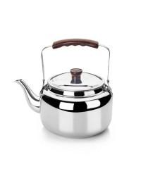 Cafetera Pava Acero Inoxidable 18/10 2,75 Lts, Fondo Capsulado, Valida Para Todas Las Cocinas Ibili 610202