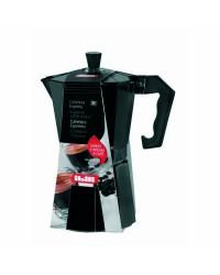 Cafetera Express Aluminio Bahia Black 3 Taza, Valida Para Cocinas A Gas, Electricas Y Vitroceramicas Ibili 612203