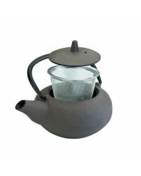 Tetera Hierro Fundido Con Filtro Laos 0,40 Lt, Valida Para Todas Las Cocinas Ibili 620904
