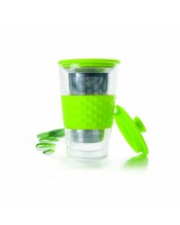 Vaso De Te Doble Pared De Cristal 250 Ml Ibili 622405