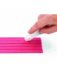Caja de 6 uds de Ruleta Cortadora-Marcadora De Fondant Ibili 733500