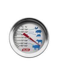 Caja de 6 uds de Termometro Para Carne Con Sonda Ibili 743402