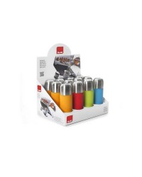Caja de 12 uds de Termo Liquidos Acero Inoxidable Colorful 150 Ml Ibili 753802C