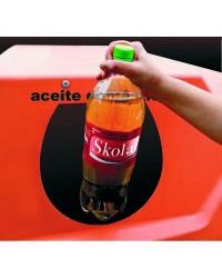 Caja de 12 uds de Embudo Para Reciclaje De Aceite Domestico Ibili 781900
