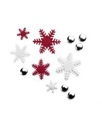 Caja de 6 uds de Cortapastas Con Expulsor Copo De Nieve Ibili 788411