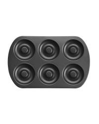 Caja de 6 uds de Molde Doughnut 6 Cavidades Chapa De Acero Con Antiadherente Ibili 827300