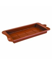 Caja de 6 uds de Molde Turron De Chocolate, 20X10X2,5 Cm Ibili 860400