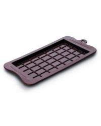 Caja de 6 uds de Molde Silicona Tableta De Chocolate, 10X19 Cm Ibili 860500