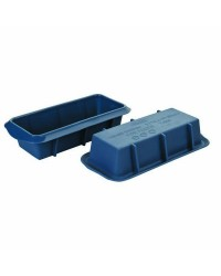 Caja de 6 uds de Set 2 Molde Cake Silicona 15X6,50 Cm Ibili 870024