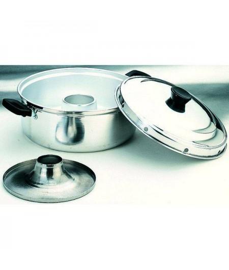 Cacerola Horno 30 Cms, Aluminio, Valido Para Cocinas De Gas Ibili 100630
