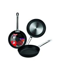 Caja de 6 uds de Sarten Indubistro Aluminio Fundido18 Cms, Valido Para Todas Las Cocinas Ibili 402018