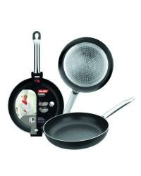 Caja de 6 uds de Sarten Aluminio  I-Chef 24 Cm, Valida Para Todas Las Cocinas Ibili 403024