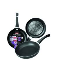 Caja de 12 uds de Sarten Aluminio Inducta 28 Cms, Valida Para Todas Las Cocinas Ibili 410028