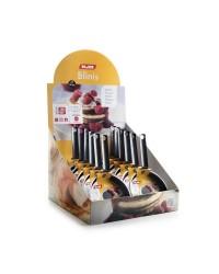 Caja de 6 uds de Tartera Aluminio Indubasic 16 Cms, Valida Para Todas Las Cocinas Ibili 405316