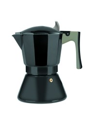 Cafetera Express Aluminio Il Sapore 9 Tazas, Valida Para Todas Las Cocinas Ibili 621309