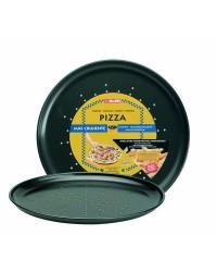 Caja de 6 uds de Molde Pizza Crispy Chapa De Acero Con Antiadherente 32 Cm Ibili 821932