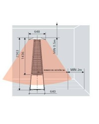 Estufas de Exterior ITALKERO FALÒ Manual - 2,363 Metros